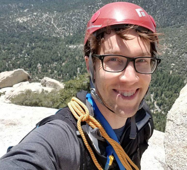 Justin Ibershoff Climbing